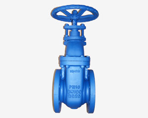 CAST IRON GATE VALVE,NON-RISING VALVE