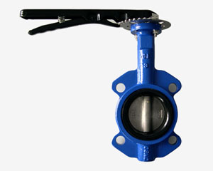C.I. WAFER BUTTERFLY VALVE
