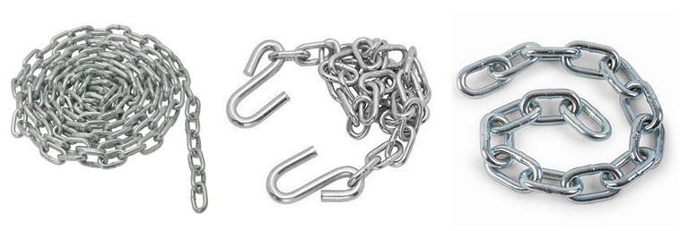 DIN766 Standard Short Link 304 Stainless Steel Chain