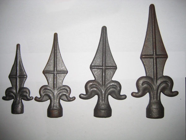 Wrought Iron Spear Point